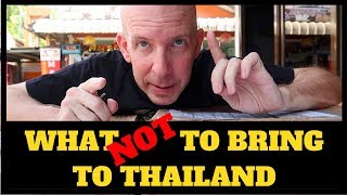 WHAT TO BRING TO THAILAND V374