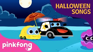 Police Car and Halloween Candy | Halloween Songs | Baby Car | Pinkfong Songs for Children