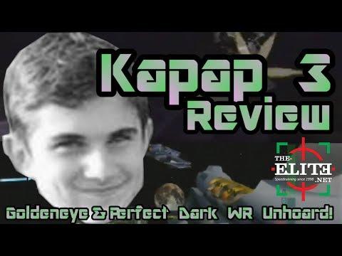 Kapap 3 Review (Massive GoldenEye 007 & Perfect Dark World Record Unhoard!)