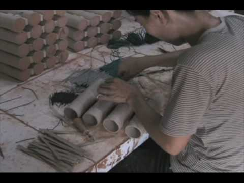 Fireworks production in china