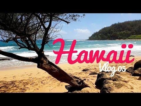 VLOG 05 // LES PLAGES DU NORD - Le paradis est à Kauai - Hawaii
