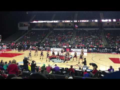 "Chicago Blitz Dancers Performance at Windy City Bulls Game ""Cake"""