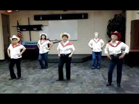 Red Hot Salsa Line Dance
