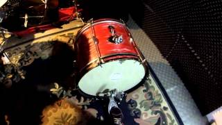 "Vintage Sakae Rhythm King Bass Drum 20"" x 14"" - test dla klienta"