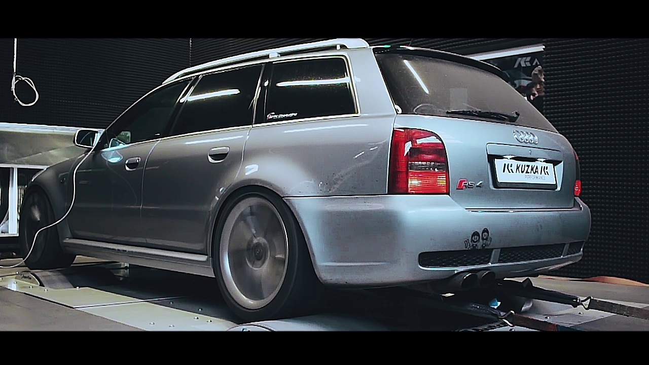 audi rs4 b5 pr fstand dynorun by kuzka performance youtube. Black Bedroom Furniture Sets. Home Design Ideas