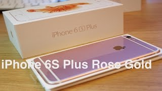 Apple iPhone 6S Plus Rose Gold Unboxing/Hands on!