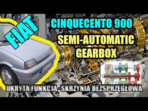 FIAT CINQUECENTO 900, UKRYTA FUNKCJA - SEMI AUTOMATIC GEARBOX, SKRZYNIA BEZ-SPRZĘGŁOWA