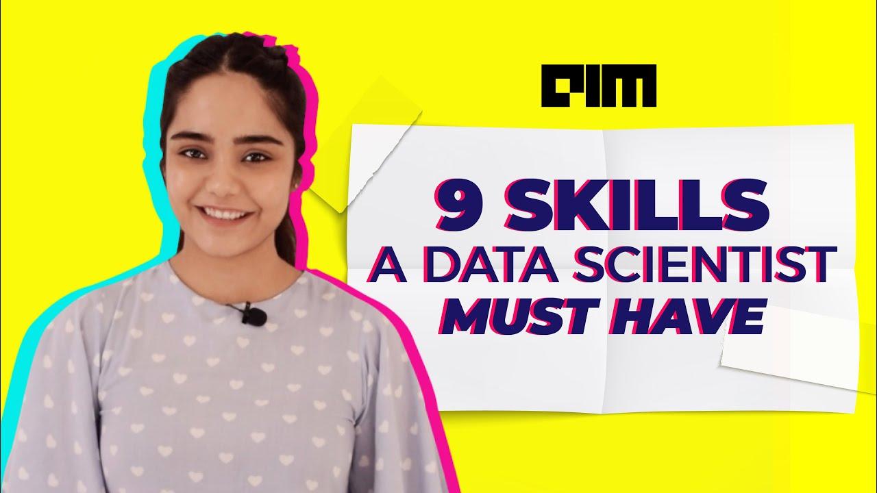Episode 6 - 9 Skills A Data Scientist Must Have