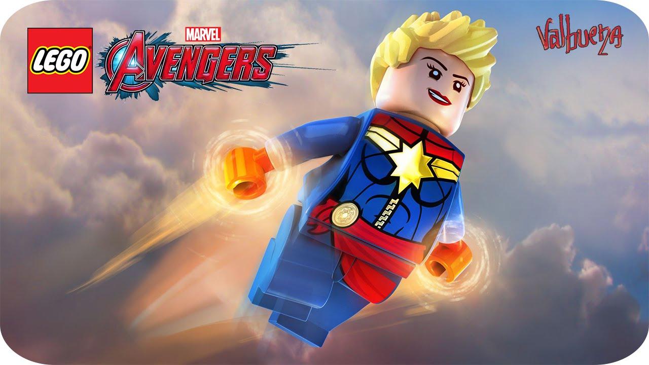 LEGO MARVEL VENGADORES - DLC #2 [NUEVO] - CAPITANA MARVEL CLÁSICA - YouTube