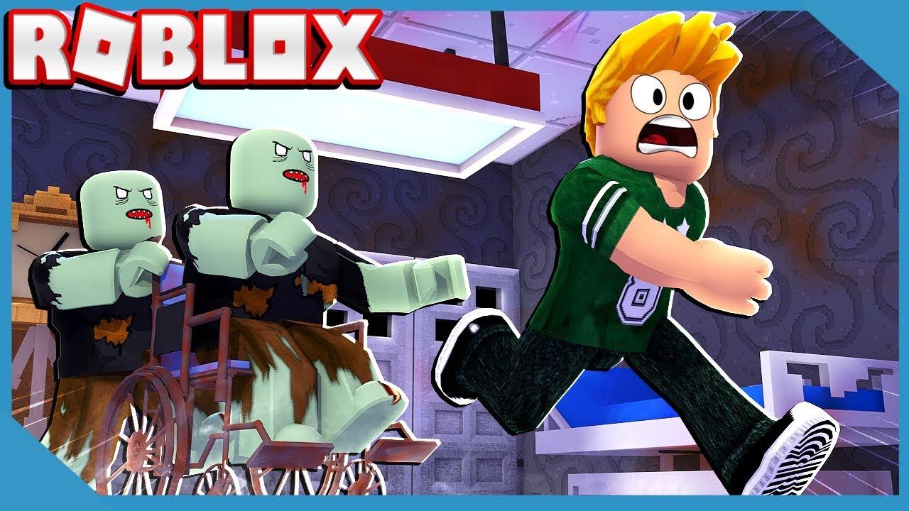 Roblox Escape The Evil Zombie Hospital Obby