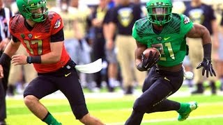 Oregon Ducks Full Spring Football GAME HD 2015