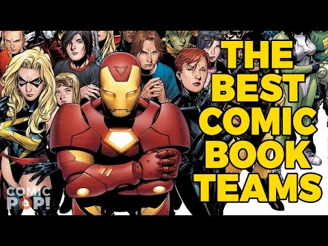 Our Favorite Teams from Comic Books   The Elseworlds Exchange Podcast