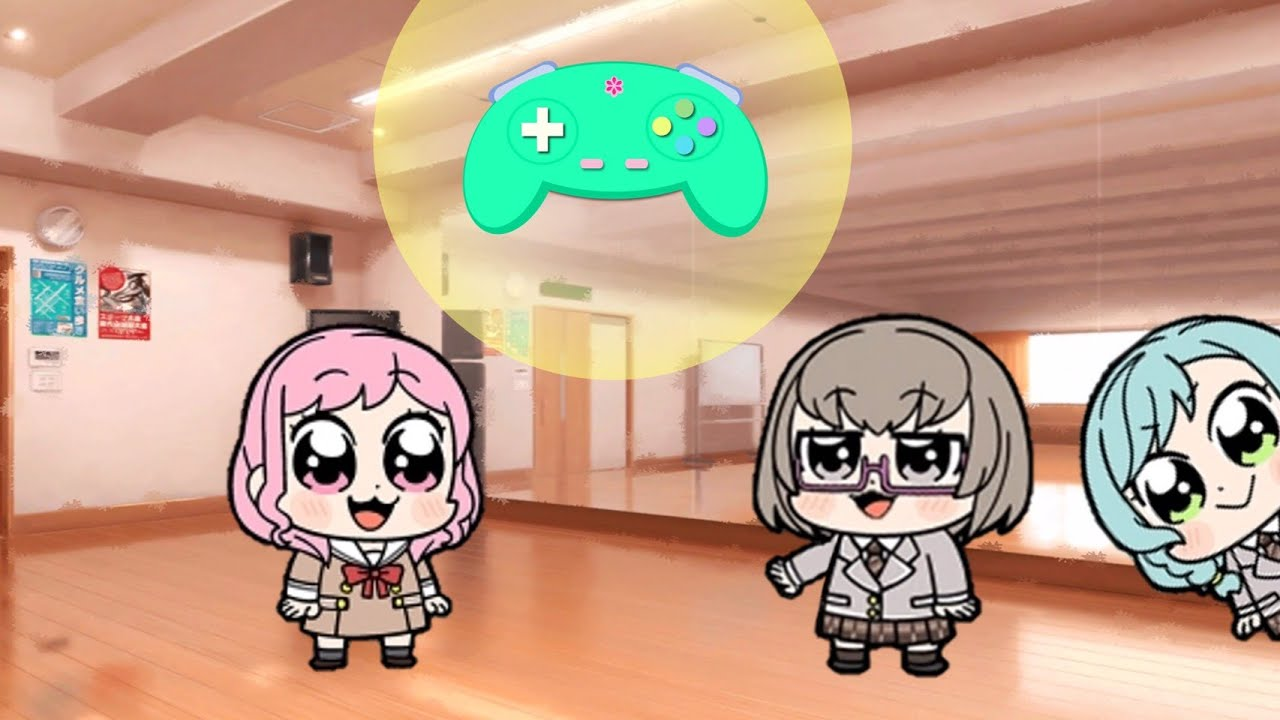 【ガルパピピック6話】ミニアニメ「彩さんコントローラー」