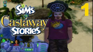 STRANDED - Let's Play - The Sims Castaway Stories - PC - 1
