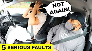 Honestly Thought He Would Do Much Better This Time | DRIVING TEST FAIL