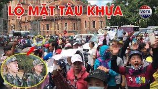 Bằng chứng Quân đội Trung Quốc b.ắ.t người biểu tình trước nhà thờ Đức Bà Sài Gòn #VoteTv