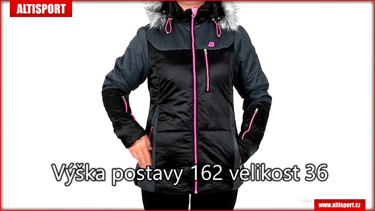 a958ccd53de dámská zimní bunda alpine pro tenea ljck235 černá - YouTube
