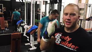 Как тренироваться если сломана рука. Вторая тренировка