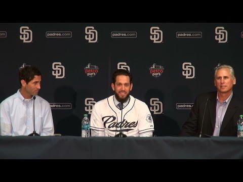 San Diego  Padres Introduce James Shields