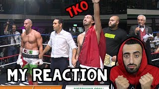 REACTING TO SLIM VS FOUSEY FIGHT (TKO VICTORY)