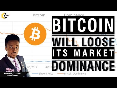 BITCOIN WILL LOSE ITS MARKET DOMINANCE, FIND OUT HOW!!!