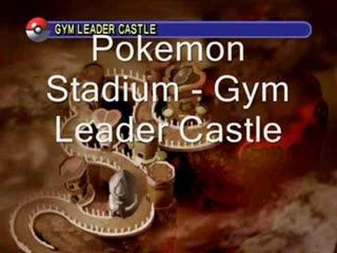 Pokemon Stadium Gym Leader Castle