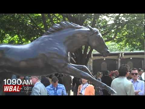 Secretariat's Jockey At Belmont Park
