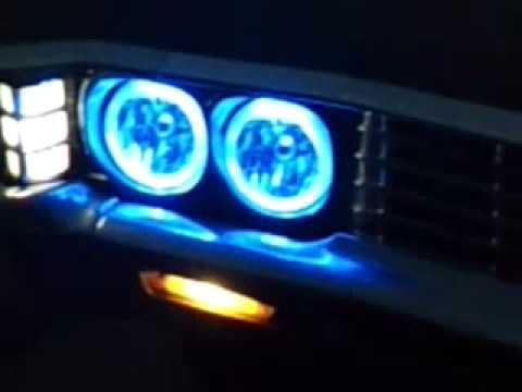 Halo Lights On My 67 Caprice YouTube
