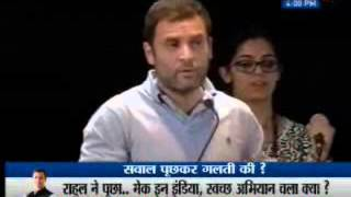 Is Make in India working, Rahul Gandhi asks Mount Carmel students; reply leaves Cong MP embarrassed