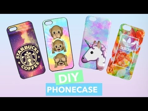 diy handyhullen phone case designs selber machen tumblr starbucks emoji more