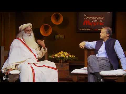 What Do You Do With Yourself After Retirement    Dr  Devi Shetty with Sadhguru