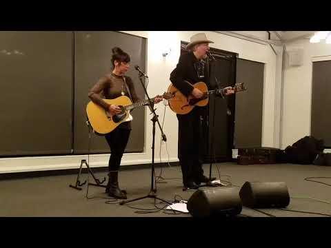 Gene Casey with Tricia Scotti Port Jeff Harborfront NY 121517