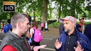 A Dog!? Hashim Vs Christian | Speakers Corner | Hyde Park