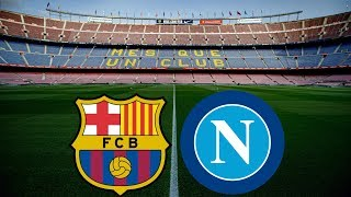 Gambar cover Barcelona vs Napoli - BEHIND CLOSED DOORS - WHAT THIS MEANS FOR BARÇA