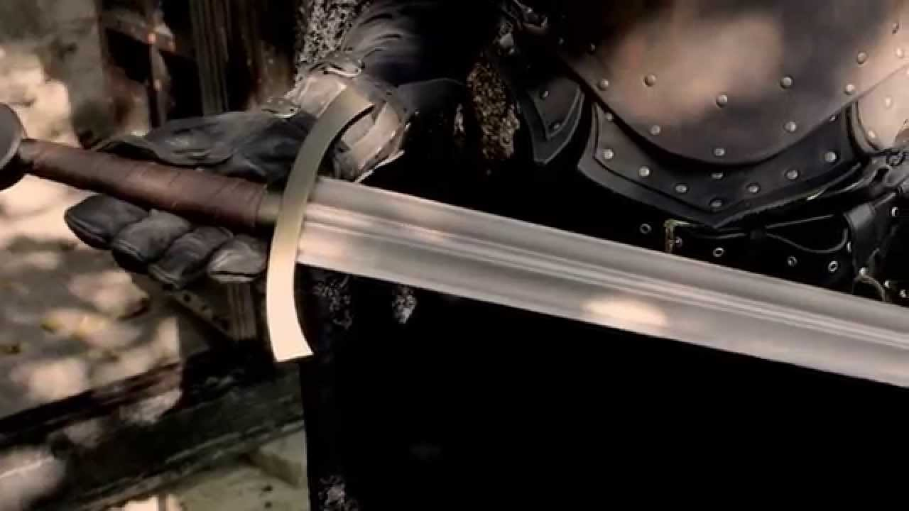 Calimacil - Rob Sharp, The Game of Foam Sword - LARP Sword