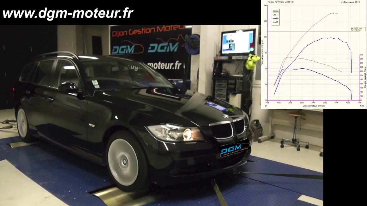 reprogrammation bmw e90 122ch dijon gestion moteur youtube. Black Bedroom Furniture Sets. Home Design Ideas
