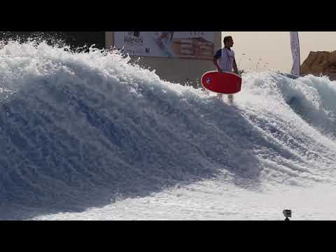 Worlds Best FlowRider Flow Barrel Championships at Yas Waterworld Abu Dhabi Dubai UAE