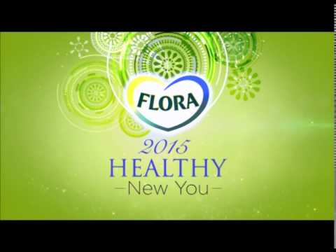 FLORA 2015 Healthy New You | Small Steps Towards a Big Change.