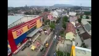 Yuneec Q500+ first flight   footage Baturaja, Kab  OKU, Sumatera Selatan, Indonesia