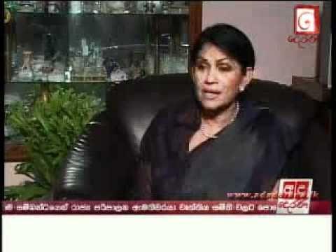 Rosy Senanayake - EXCLUSIVE Interview