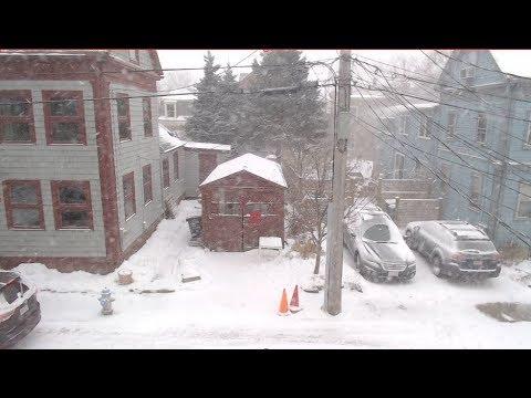 Snow Day - Cambridge, MA - Snow Bomb January 2017