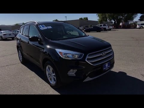 2018 Ford Escape Reno, Carson City, Northern Nevada, Roseville, Sparks, NV JUC61684P
