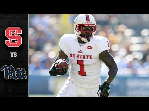 NC State vs. Pitt Football Highlights (2017)