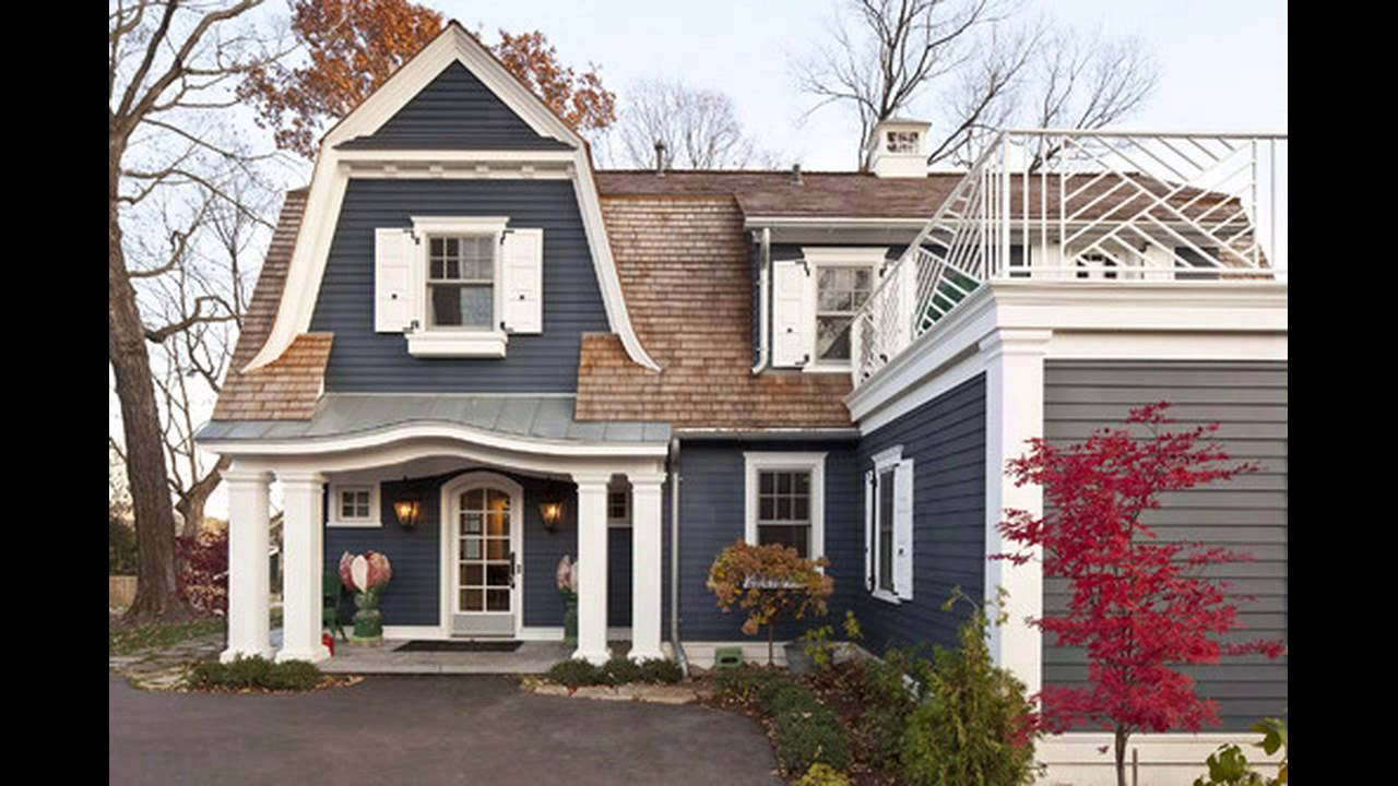 dark exterior house colors youtube - Exterior House Colors Blue