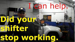 How to replace the shifter assembly on a 2007 Jeep Grand Cherokee