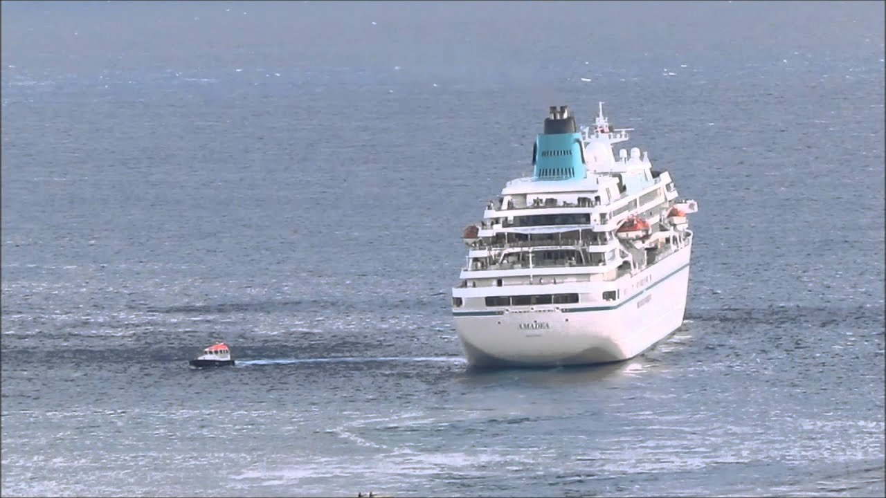 Cruise Ship Amadea Leaves Funchal Port YouTube - Cruise ship amadea