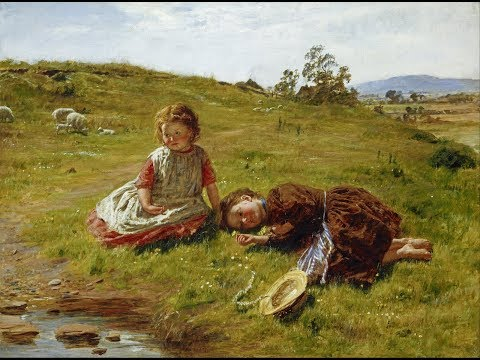 William McTaggart (1835 – 1910) Scottish ✽ Francis Goya / Scarborough fair