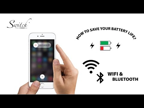How To Save Battery: Disable Wifi And Bluetooth