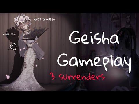 I Finally Got My S Tier Dream Skin✨/ Geisha Gameplay/ Identity V