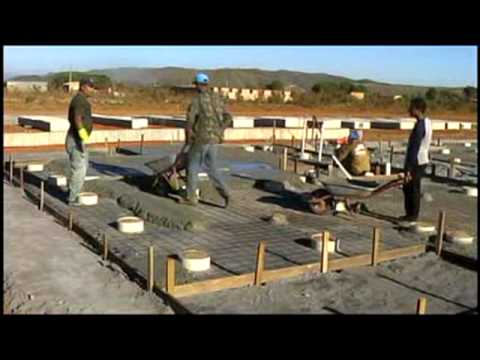 1 preparaci n del terreno y youtube - Como cerrar un terreno con madera ...
